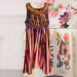 🔴🌷Summer garden party pink and purple Sz XL